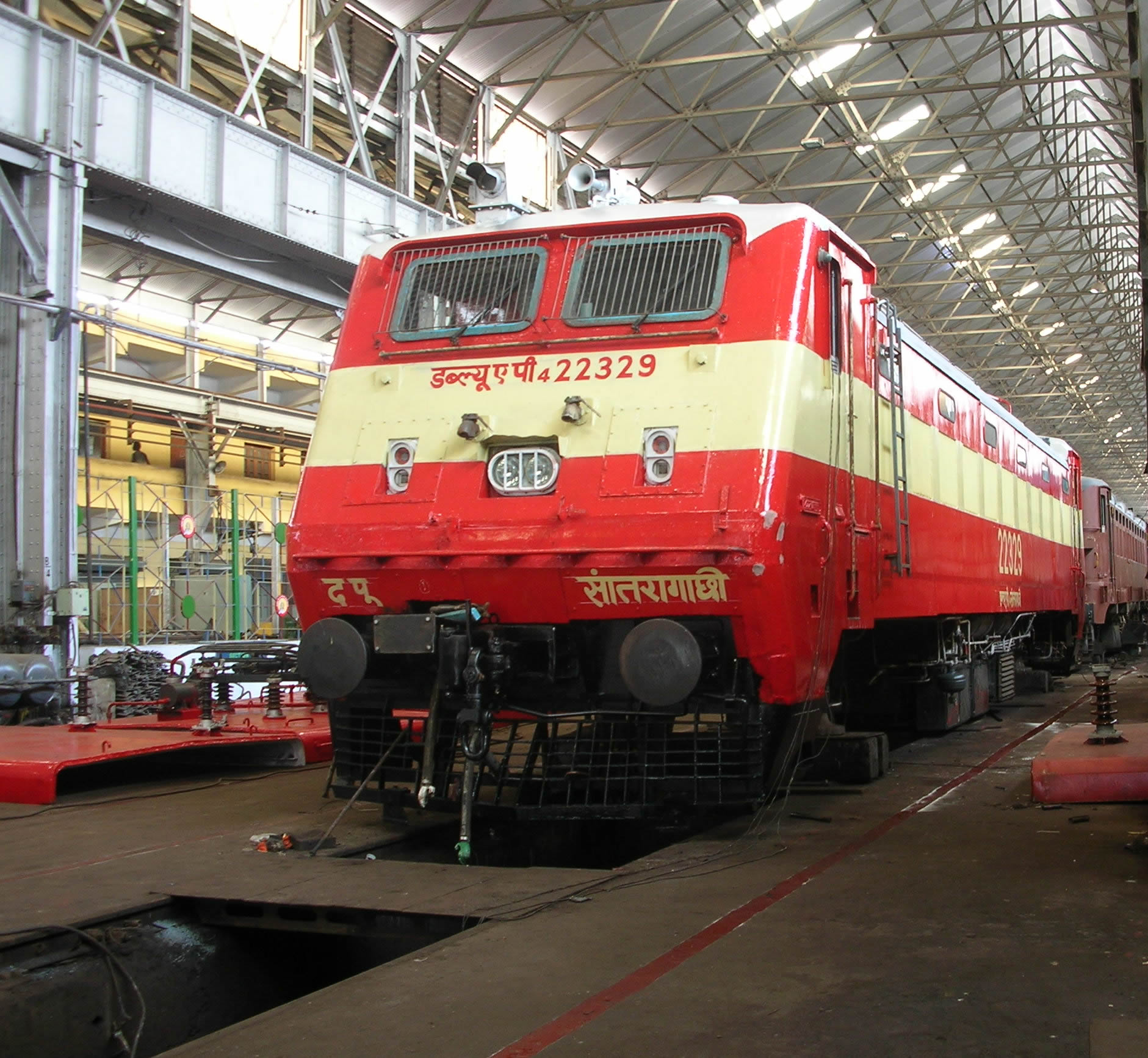 Apart from this, Diesel POH Shop has the facilities for re-winding of  traction machines, including coil manufacturing.